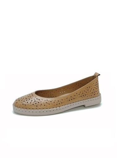 Ballerins Ayakkabı Taba